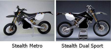 Мотоцикл ATK Le (electric) Stealth Metro / Stealth Dual Sport 2012