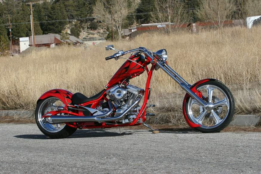 Мотоцикл Big Bear Sled Chopper 2015