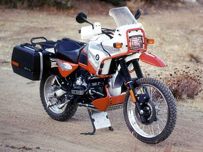 Мотоцикл BMW R 100GS Paris Dakar 1988