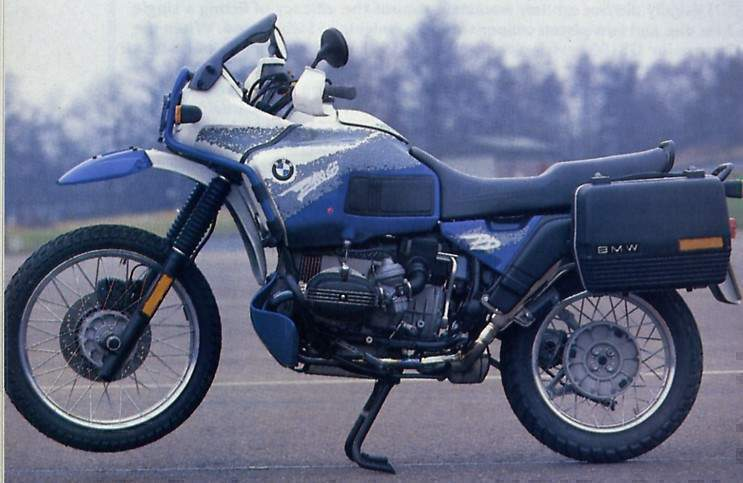 Мотоцикл BMW R 100GS Paris Dakar 1990