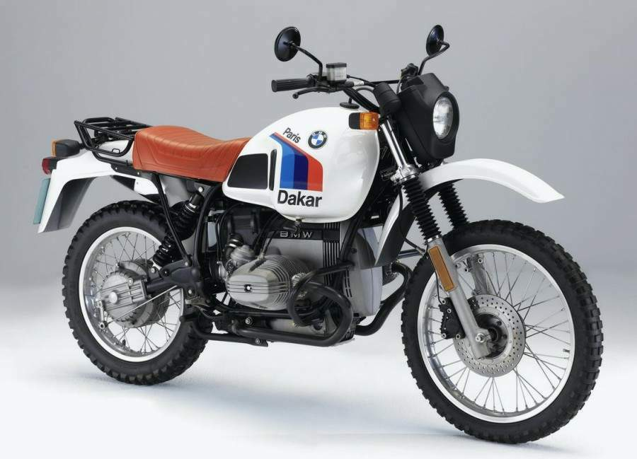Мотоцикл BMW R 80G/S Paris Dakar 1984