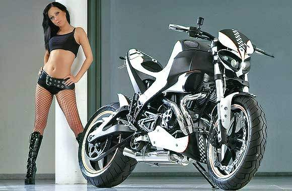 "Мотоцикл Buell XB12S Lightning ""Black and White"" 2007"