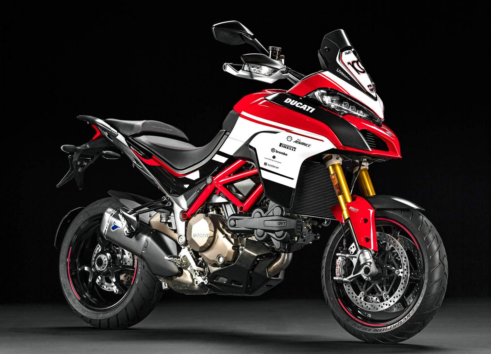 Мотоцикл Ducati Multistrada 1200 Pikes Peak 100th Anniversary Limited Edition Kit 2016