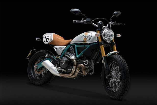 Мотоцикл Ducati Scrambler Paul Smart Replica 2015