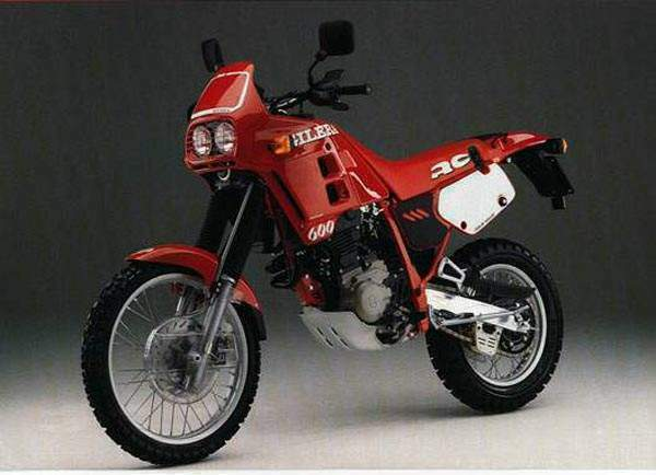 Мотоцикл Gilera RC 600 Enduro 1989