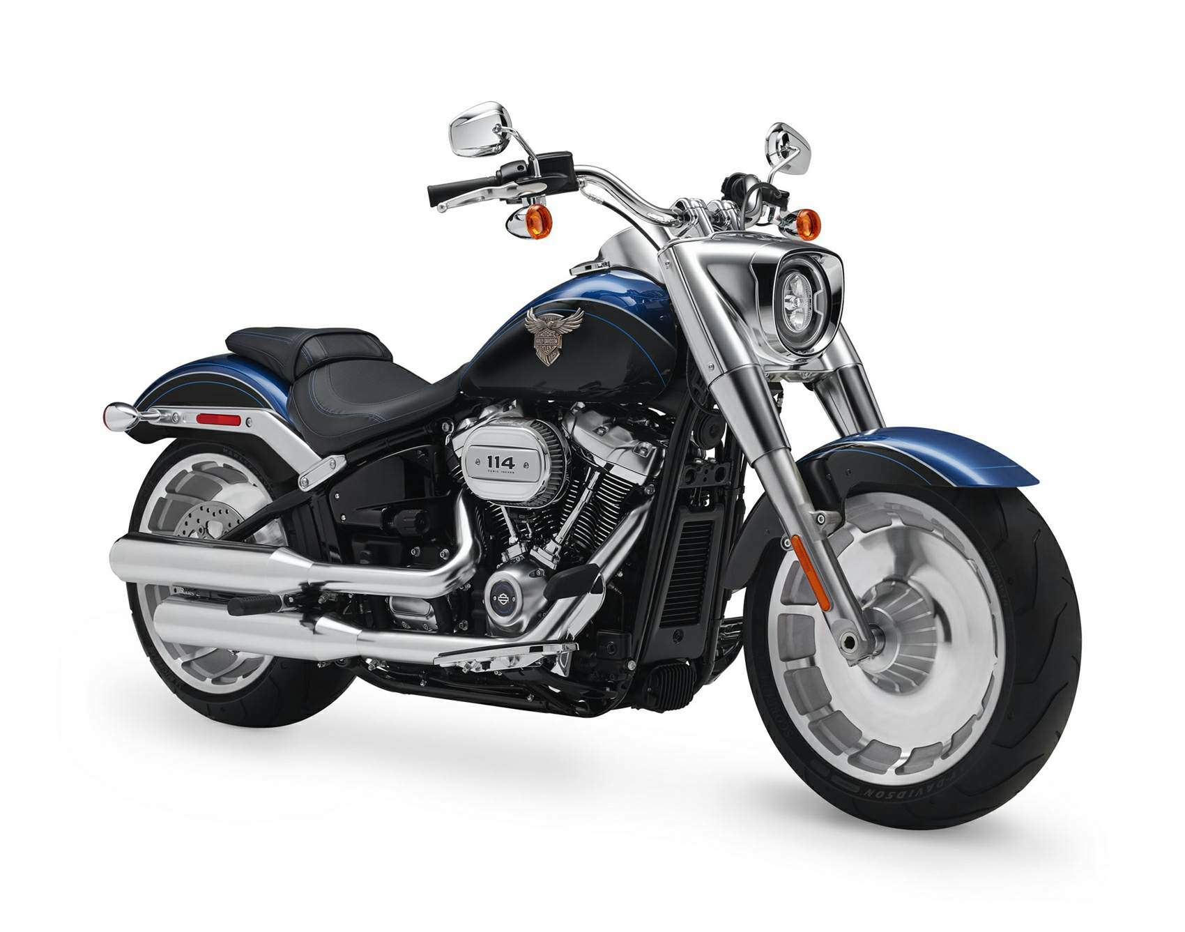 Мотоцикл Harley Davidson Softail Fat Boy -114 - 115th Anniversary 2018