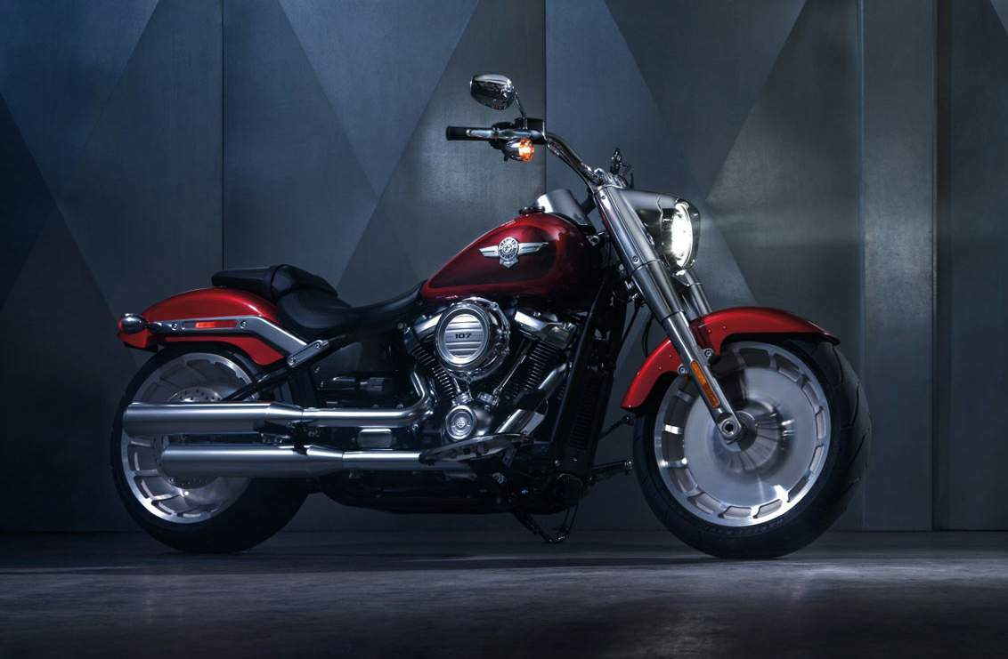 Мотоцикл Harley Davidson Softail Fat Boy 2018