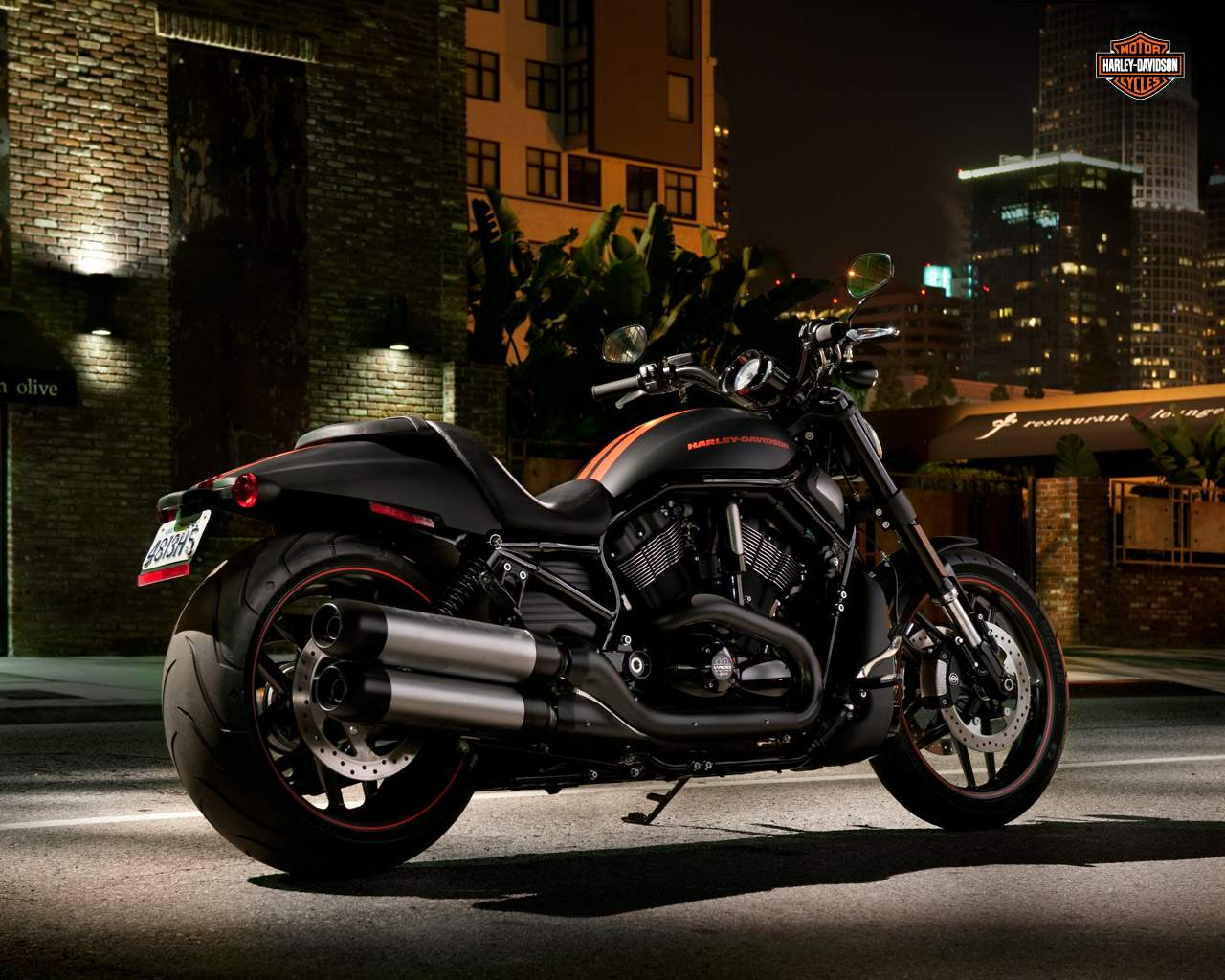 Мотоцикл Harley Davidson VRSCDX Night Rod Special 2012