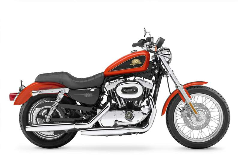 Мотоцикл Harley Davidson XL 50 50th Anniversary Sportster Limited Edition 2007