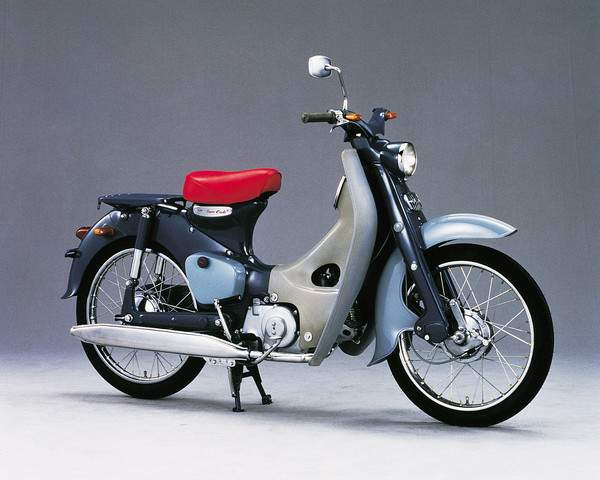 Мотоцикл Honda C 100 Super Cub (Scooter) 1958