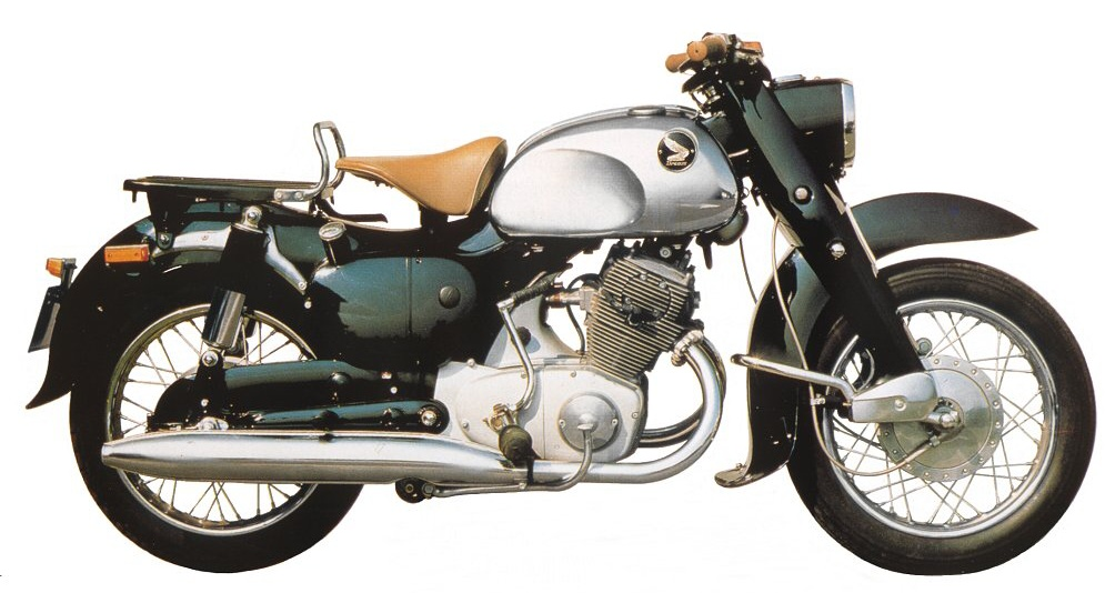 Мотоцикл Honda C 70 Dream 1956
