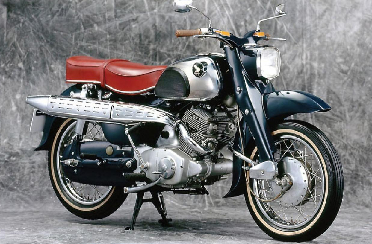 Мотоцикл Honda C 71 Dream 1958