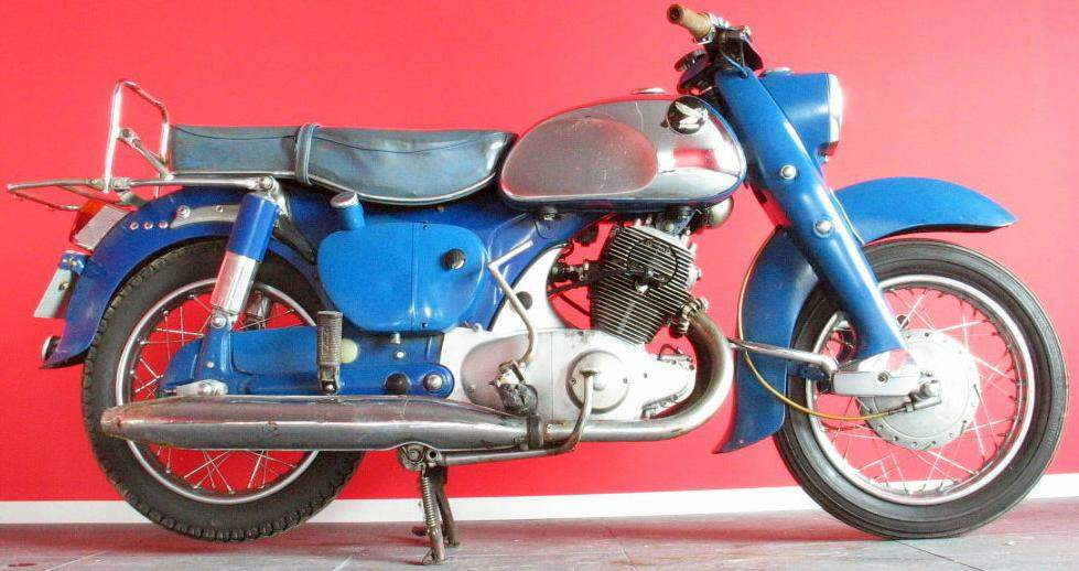 Мотоцикл Honda C 71 Dream 1959