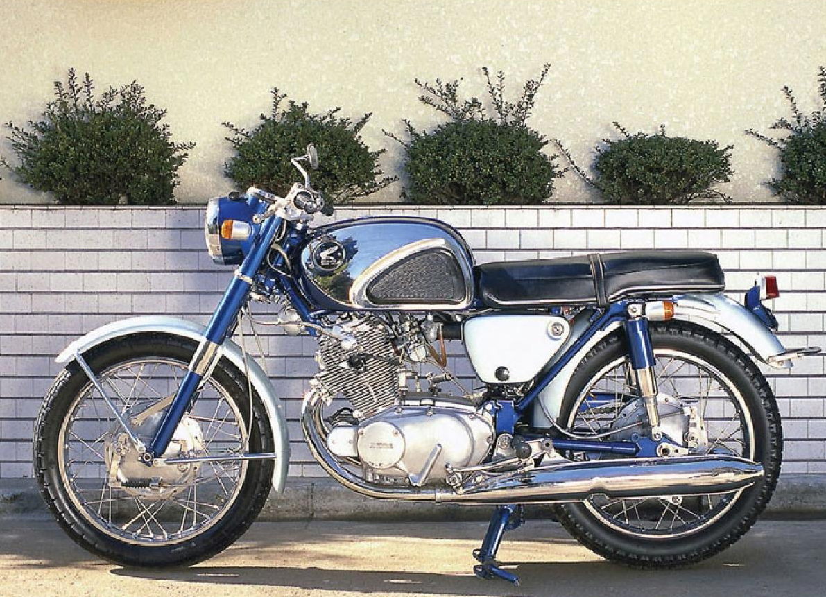 Мотоцикл Honda C 72 Dream 1960