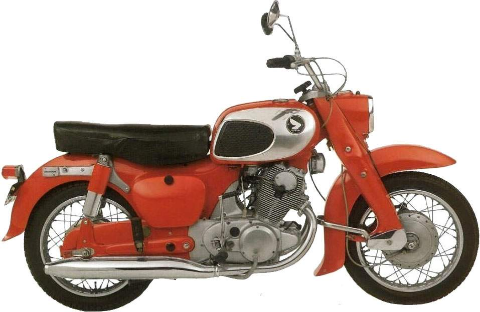 Мотоцикл Honda C 72 Dream 1963