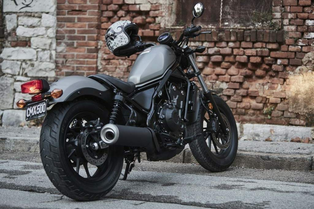 Мотоцикл Honda CA 500 Rebel 2017