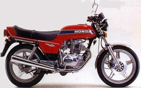 Мотоцикл Honda CB 400N Super Dream 1980