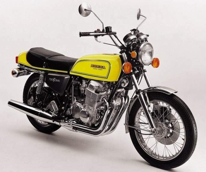 Мотоцикл Honda CB 750F1 Super s port 1975