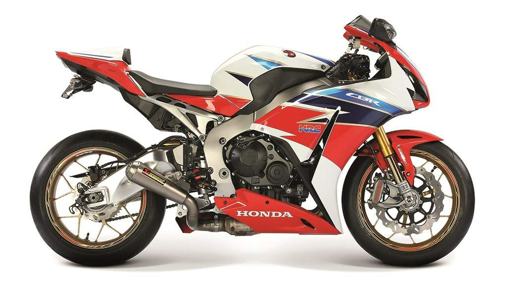 Мотоцикл Honda CBR 1000RR-SP  TT Limited Edition 2016