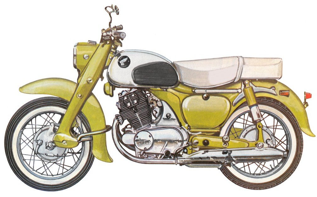 Мотоцикл Honda Dream 305 1962