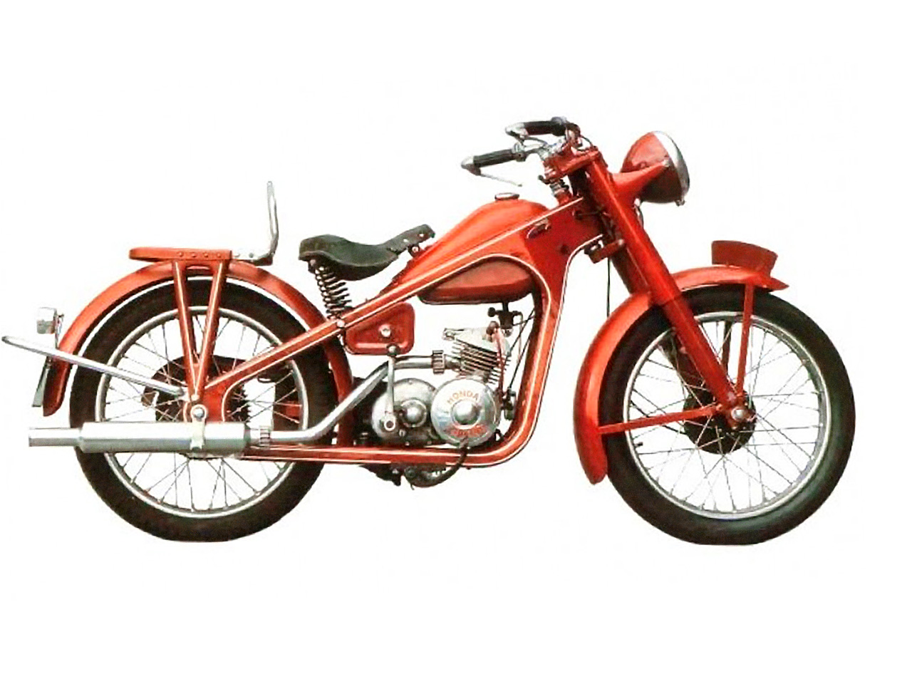 Мотоцикл Honda Dream Type D 1950