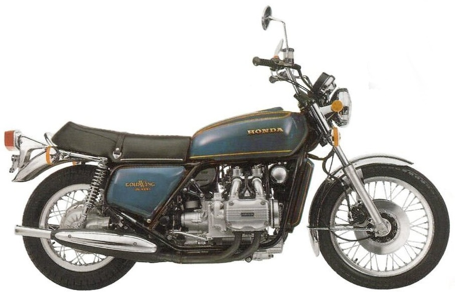 Мотоцикл Honda GL 1000 Gold Wing 1975