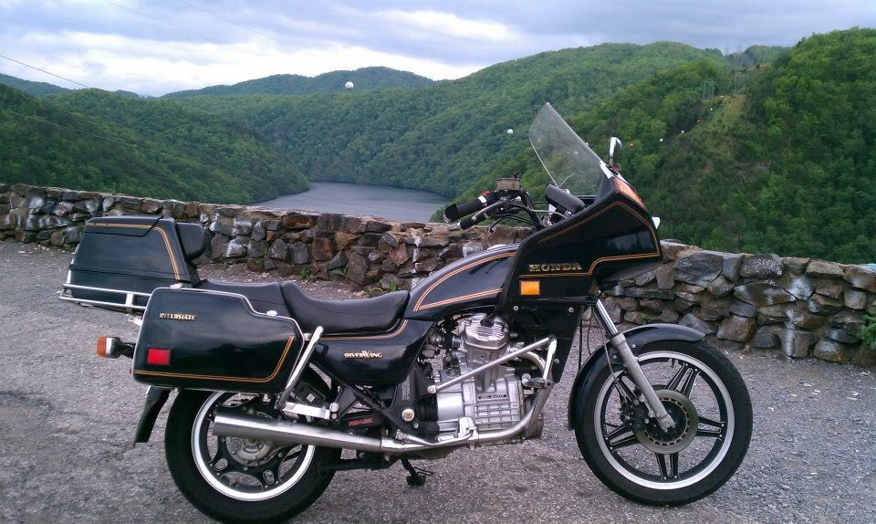 Мотоцикл Honda GL 500 Silver Wing Interstate 1981
