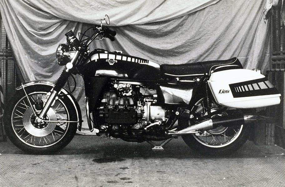 Мотоцикл Honda Gold Wing Prototype M1 1972