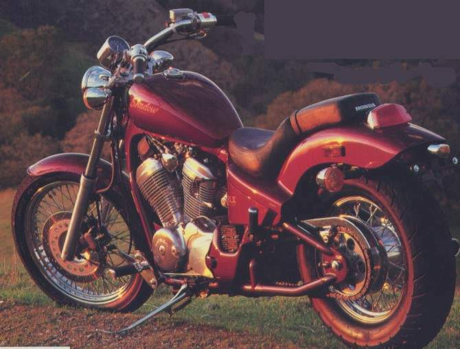 Мотоцикл Honda VT 600C Shadow 1991