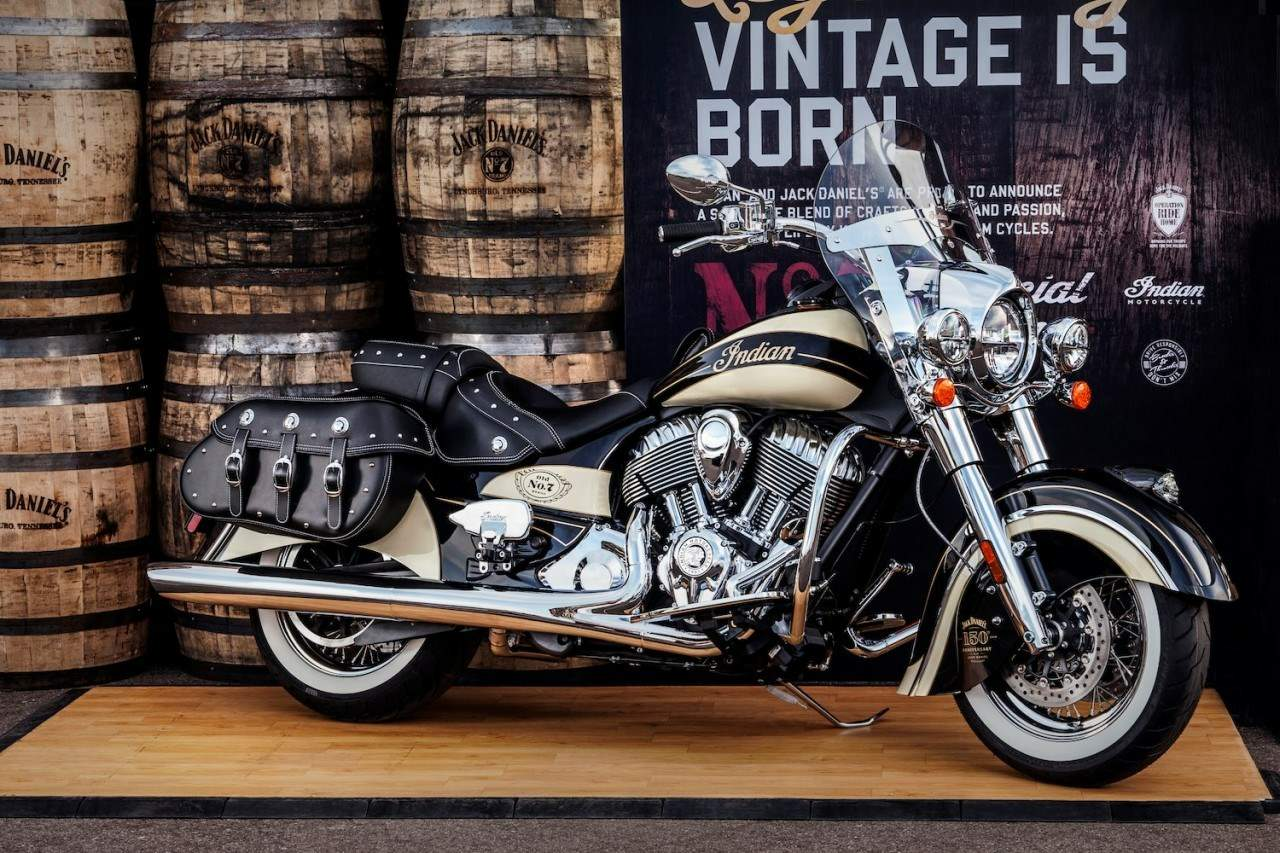 Мотоцикл Indian Chief Vintage Classic Jack Daniels L.E. 2016