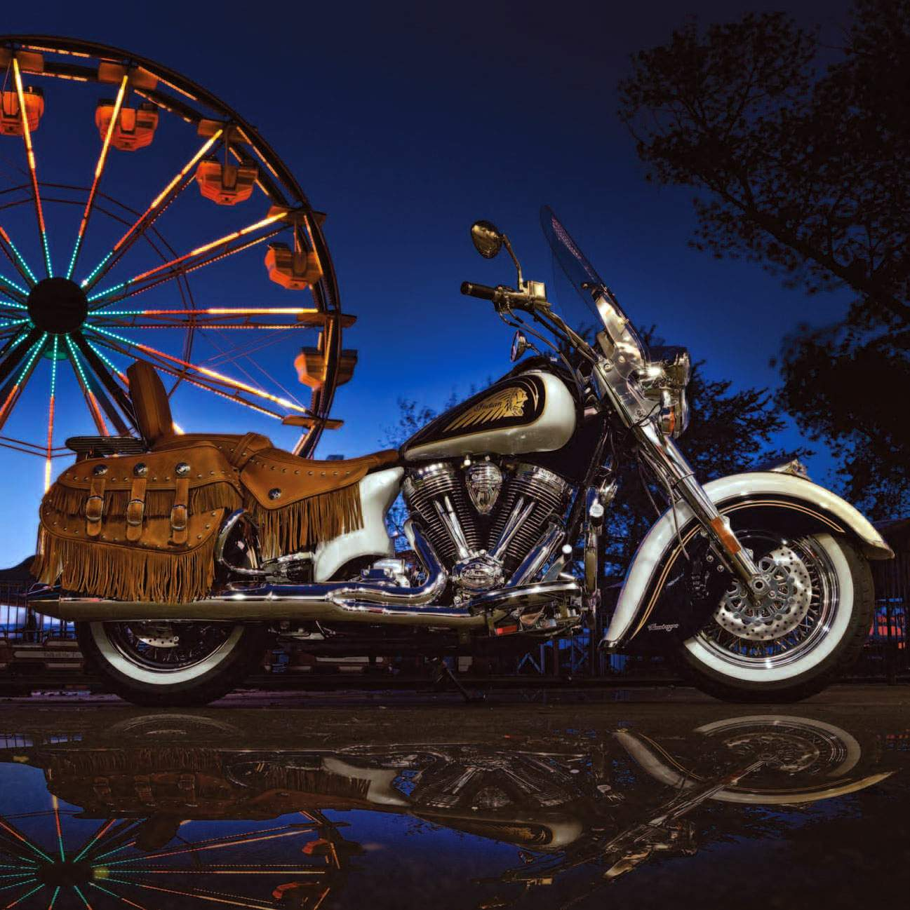 Мотоцикл Indian Chief Vintage L.E. 2013