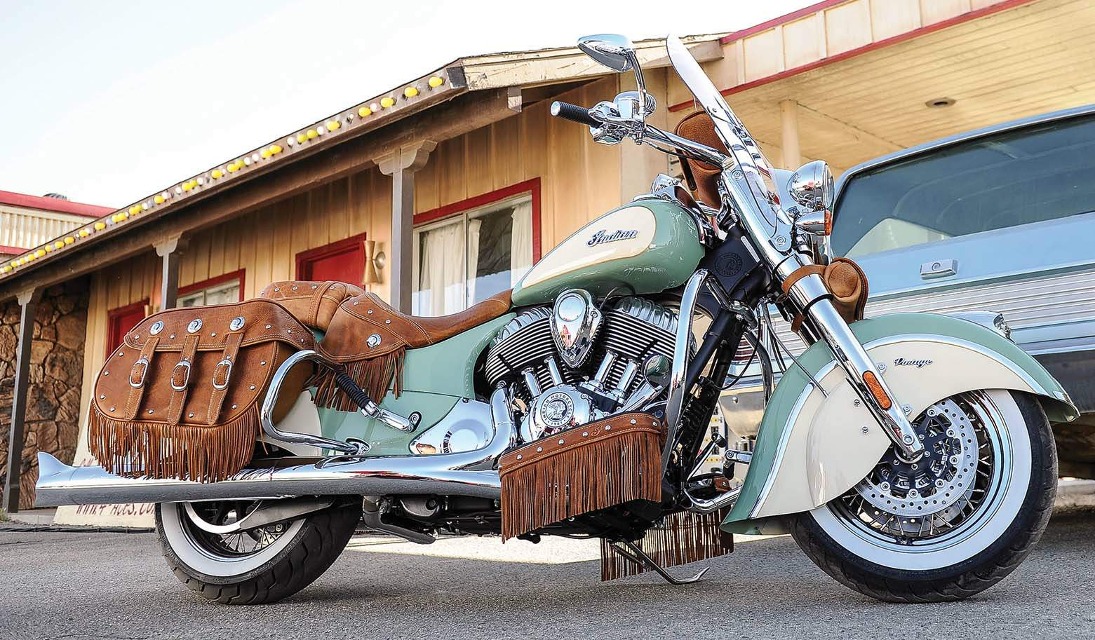 Мотоцикл Indian Chief Vintage 2016