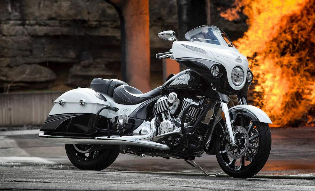 Мотоцикл Indian Chieftain Jack Daniels Limited Edition 2017