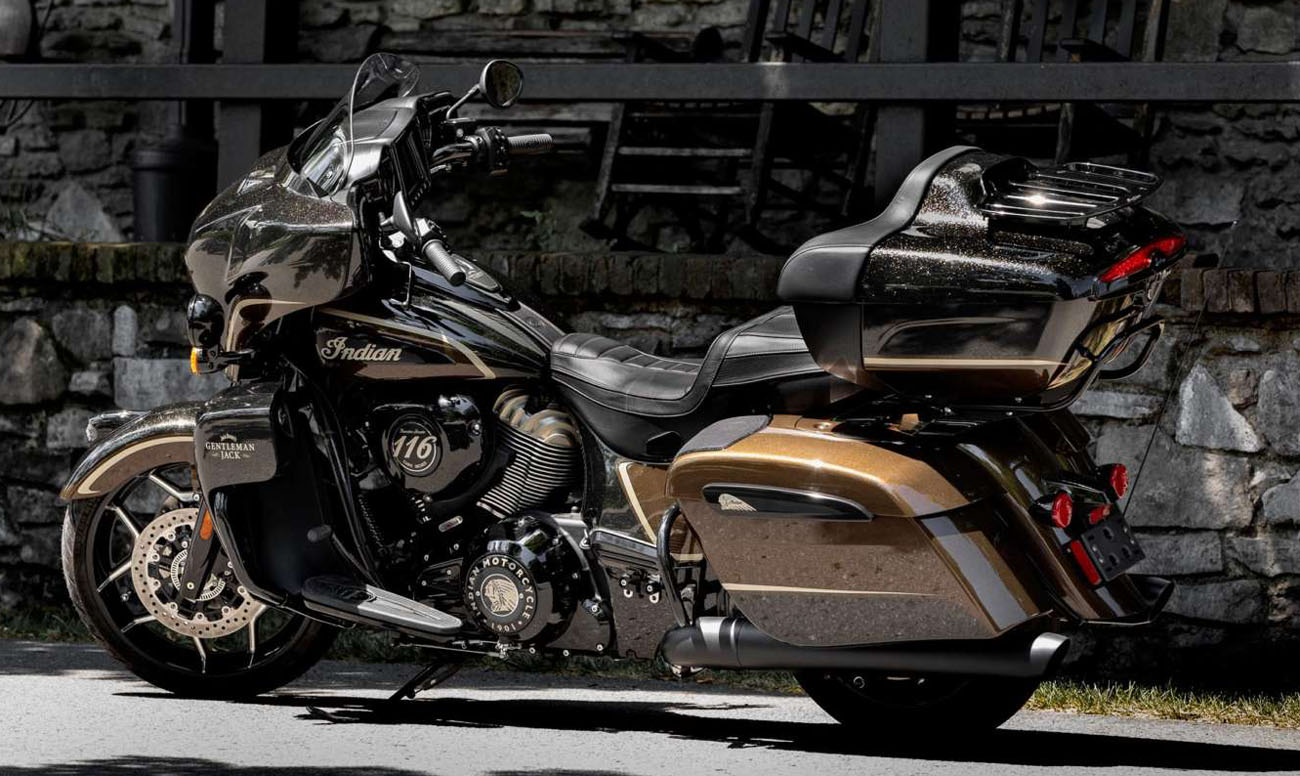 Мотоцикл Indian Roadmaster Dark Horse Jack Daniels 116 2021