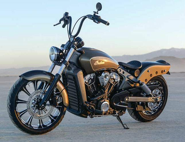 Мотоцикл Indian Scout Outrider Chopper 2015