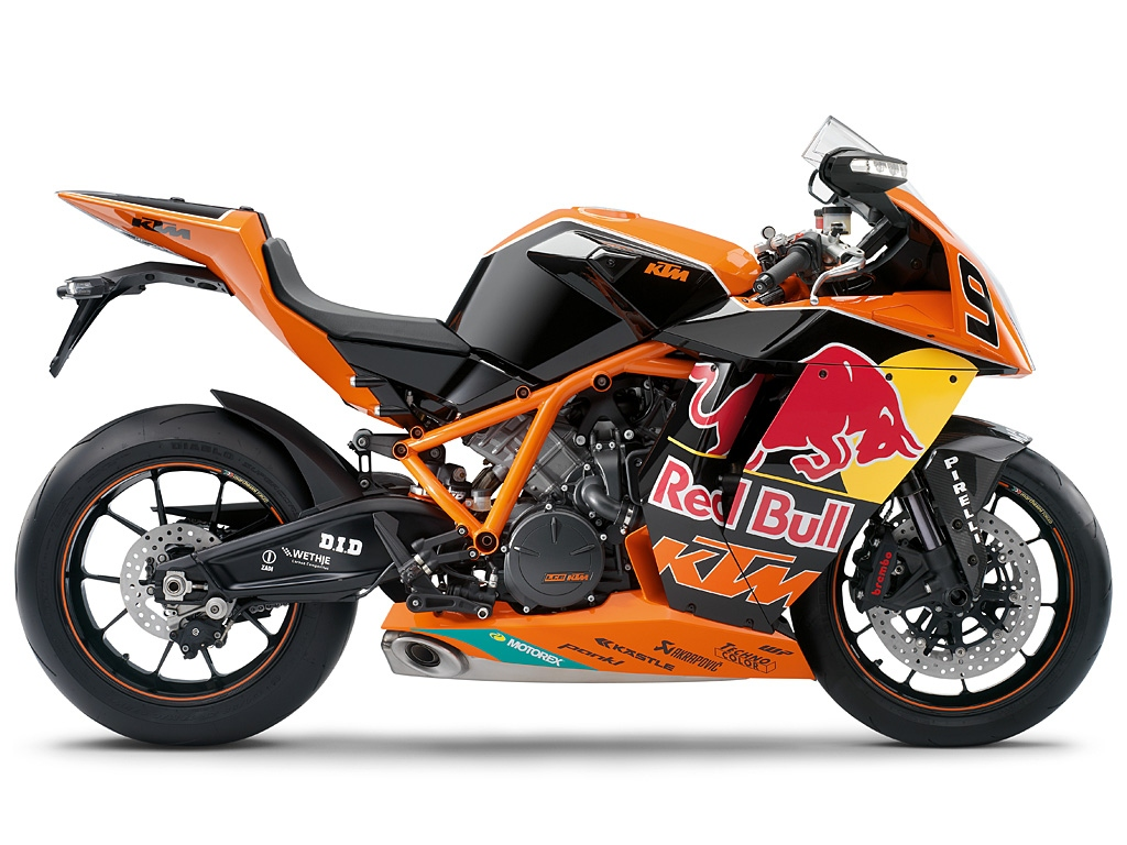 Мотоцикл KTM 1190 RC8 R RED BULL LIMITED EDITION 2010