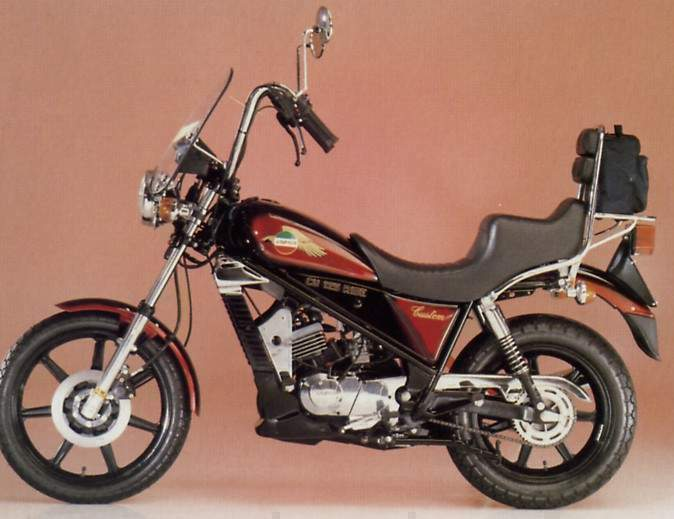 Мотоцикл Laverda 125 LB Custom Ride 1985