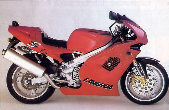 Мотоцикл Laverda 750 Carenata 1998