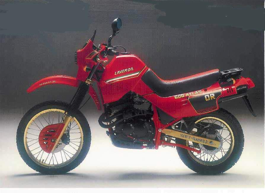 Мотоцикл Laverda OR 600 Atlas 1989