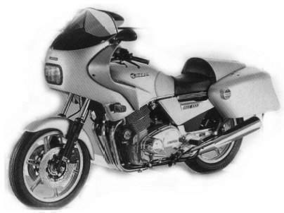 Мотоцикл Laverda RGS 1000 Executive 1985