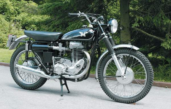 Мотоцикл Matchless G80 GS 1960
