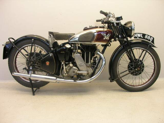 Мотоцикл Matchless G90 Super Clubman 500 1939