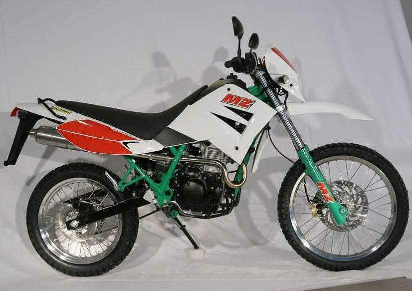 Мотоцикл MZ 125SM Six Days 2005