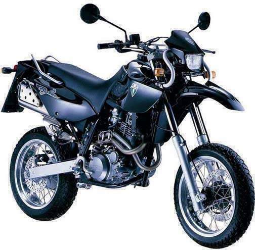 Мотоцикл MZ Baghira Black Panther 2001