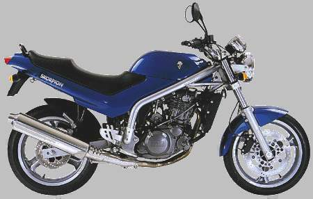 Мотоцикл MZ Skorpion 660 Tour  1994