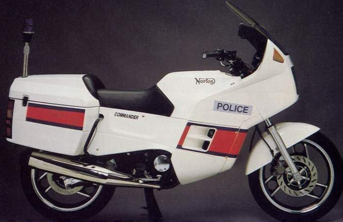 Мотоцикл Norton Commander Police 1990