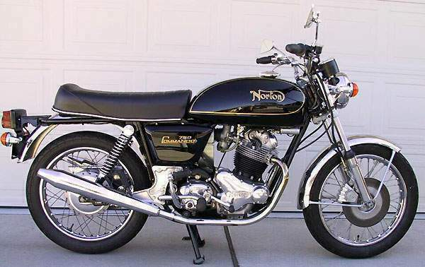Мотоцикл Norton Commando 750 Interstate 1972