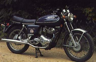 Мотоцикл Norton Commando 850 Interstate MKIII 1975