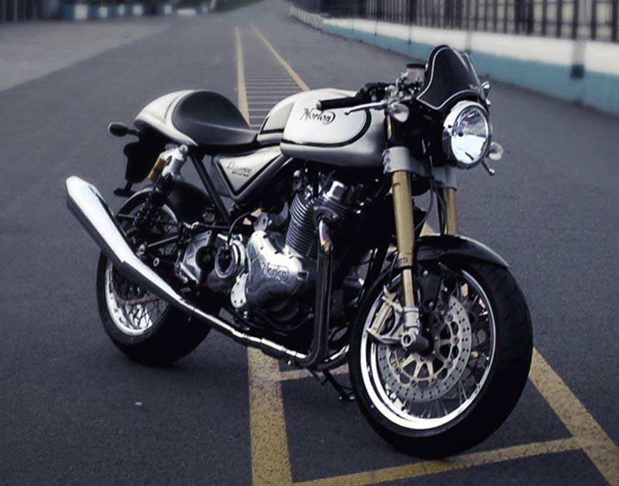 Мотоцикл Norton Commando 961 Caf Racer 2013