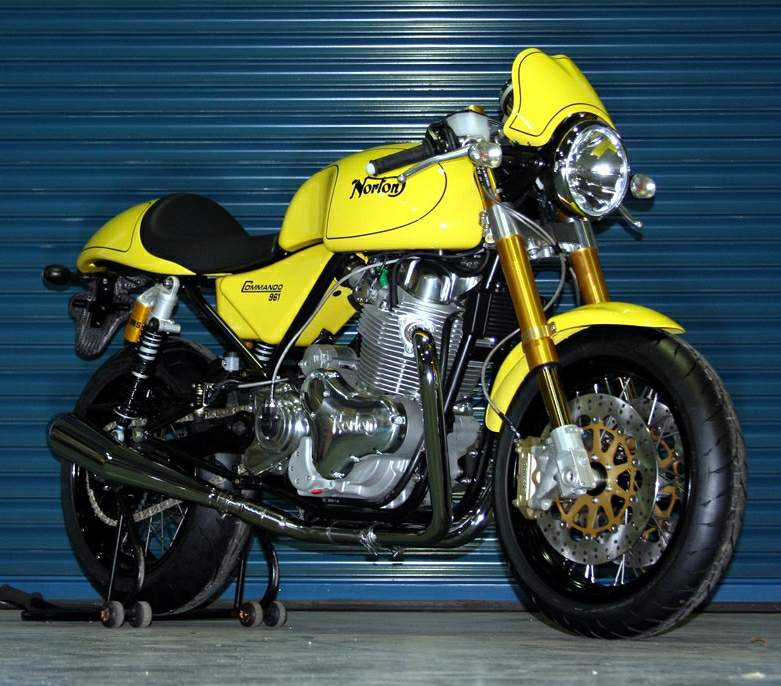 Мотоцикл Norton Commando 961Caf Racer 2010
